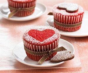آموزش درست کردن کاپ کیک قلب مخصوص ولنتاین