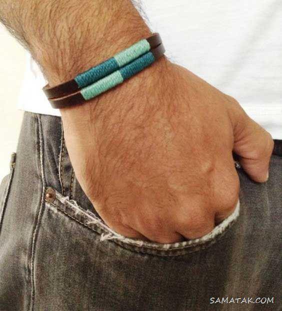 جدیدترین مدل های دستبند چرم مردانه (اسپرت - طرح دار - پهن - باریک)