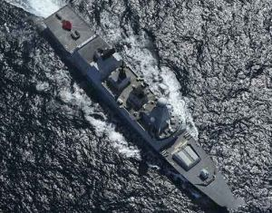 پیام تبریک روز ولنتاین به سبک ملوانان نیروی دریایی