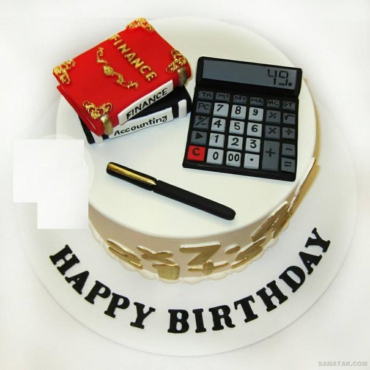کیک روز حسابدار؛ عکس انواع مدل کیک تولد برای روز حسابدار