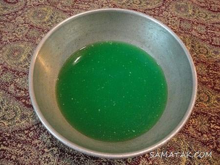 طرز تهیه ژله هندوانه ای برای شب یلدا (مرحله به مرحله تصویری)