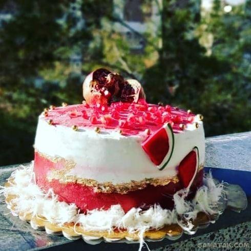 کیک شب یلدا 99؛ عکس تزیین انواع مدل کیک شب یلدا جدید