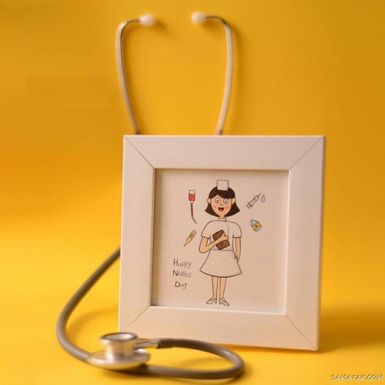 پیام تبریک روز پرستار به همسر - شوهر - عشقم Nurse Day