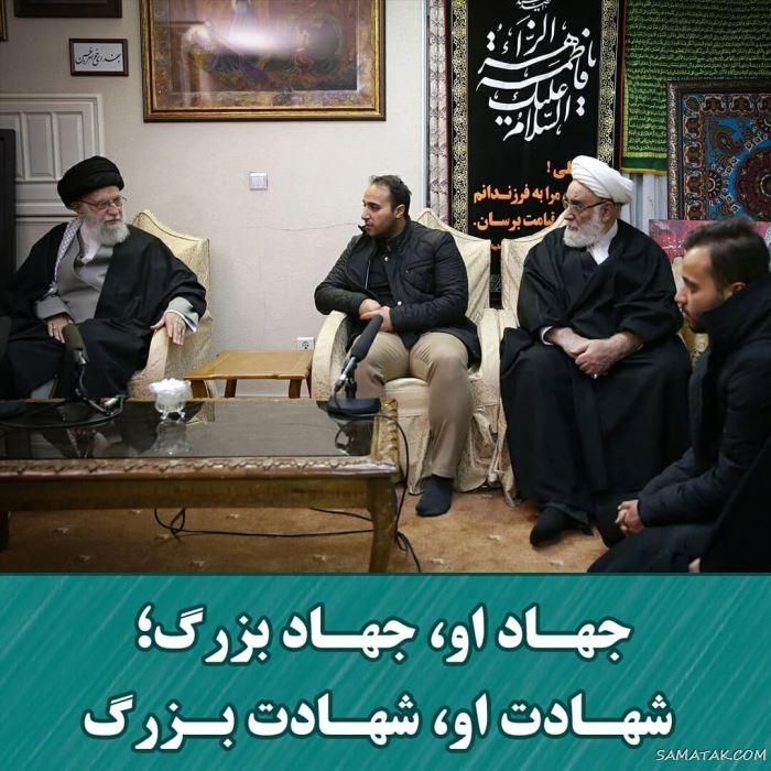 بیوگرافی سردار حاج قاسم سلیمانی + عکس های همسر و فرزندان