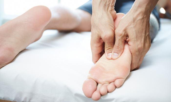 آموزش ماساژ پا برای رفع خستگی (کف پا - ساق پا)