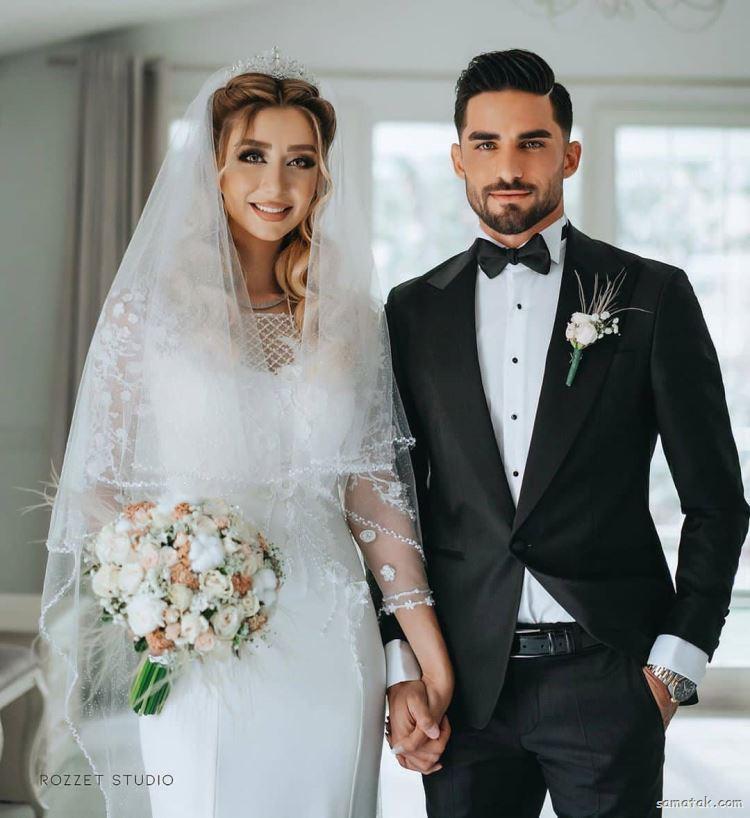عکس های ازدواج و عروسی میلاد محمدی و همسرش