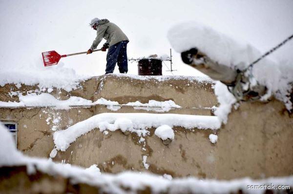 انشا زمستان در روستا