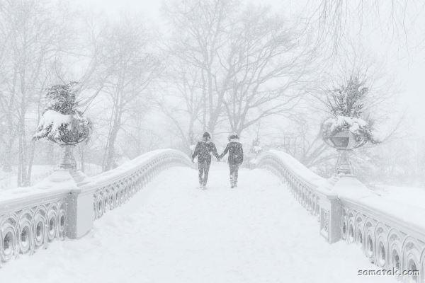 انشا در مورد یک صبح سرد و برفی زمستان
