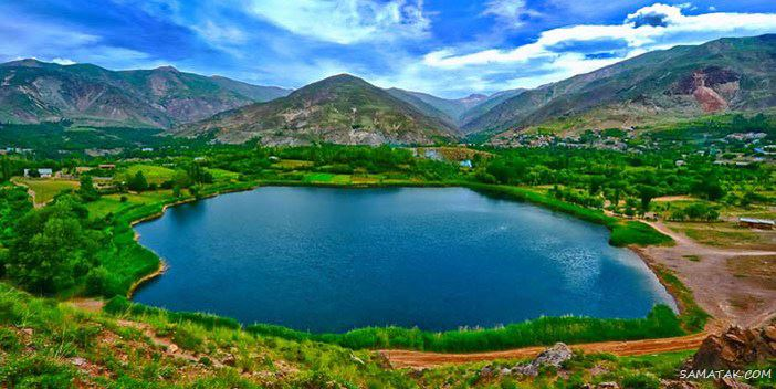 مناطق تفریحی گردشگری کلاردشت مازندران همراه با عکس
