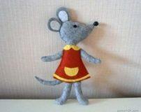 موش نمدی برای هفت سین 99 | عروسک نمدی موش برای هفت سین 99
