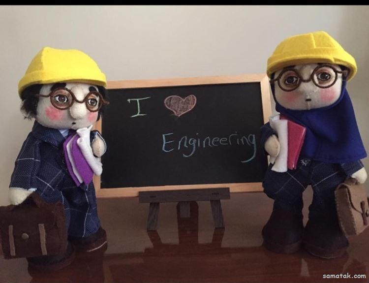 دختر باس مهندس باشه | عکس پروفایل خانم مهندس