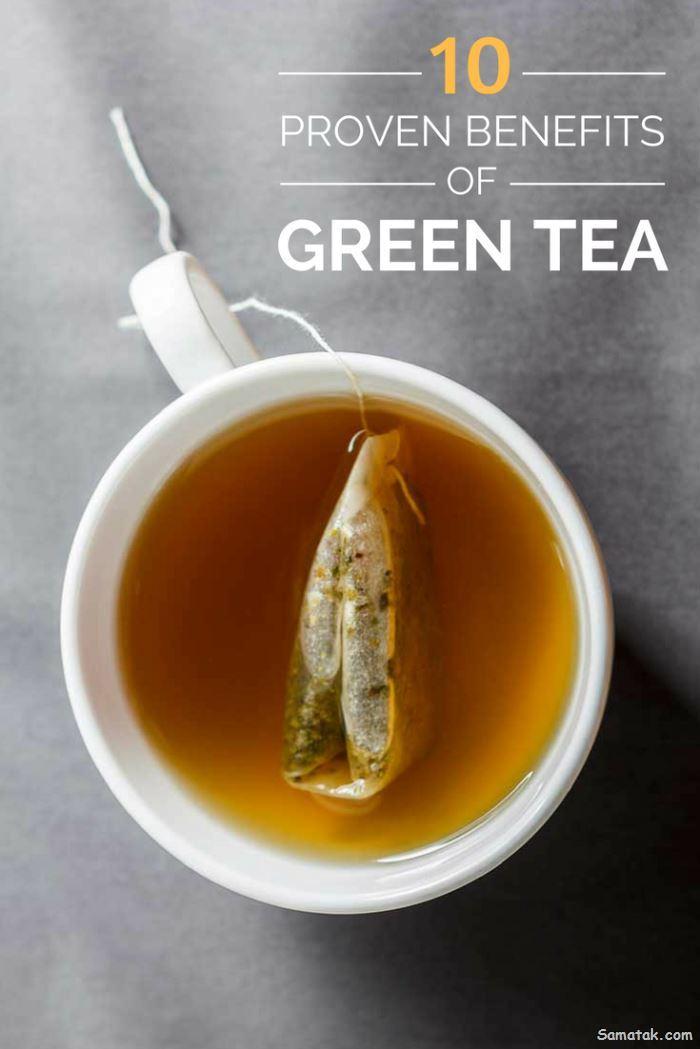 خواص چای سبز چیست | فواید چای سبز برای بدن