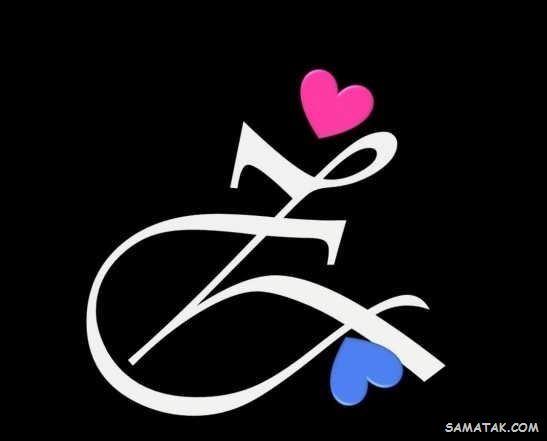 عکس نوشته حرف Z انگلیسی برای پروفایل