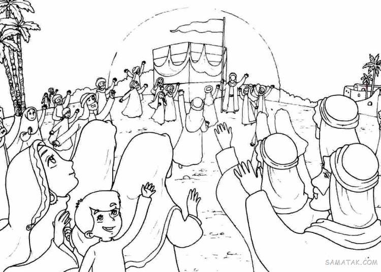نقاشی در مورد امام زمان | نقاشی امام زمان کودکانه