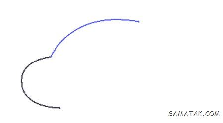 آموزش مرحله به مرحله نقاشی هواپیما برای کودکان (تصویری)