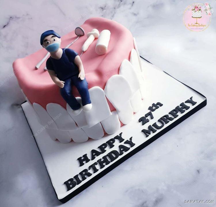 کیک روز دندانپزشک؛ عکس تزیین انواع مدل کیک روز دندانپزشک جدید