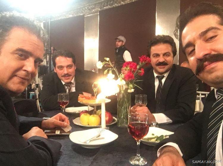 بهزاد داوری بازیگر سریال سرباز
