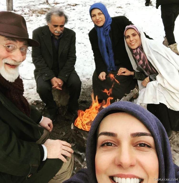 جمال اجلالی بازیگر نقش پدر یلدا در سریال سرباز