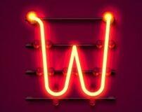 عکس حرف انگلیسی w برای پروفایل | عکس نوشته حرف w انگلیسی