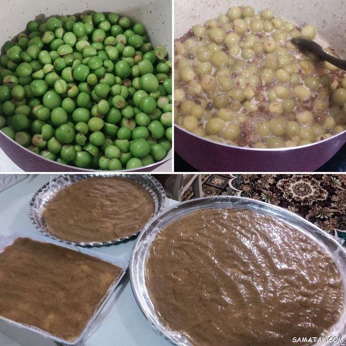 چگونه لواشک گوجه سبز درست کنیم