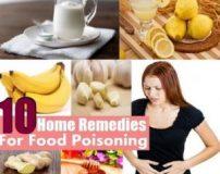 بهترین درمان خانگی برای مسمومیت غذایی در بزرگسالان