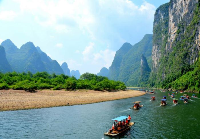 از جاذبه های گردشگری اروپا تا رودخانه های کشور چین