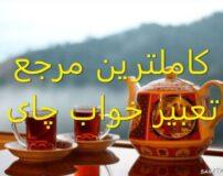تعبیر خواب چای کیسه ای – خشک – سیاه – خوردن – نذری و …