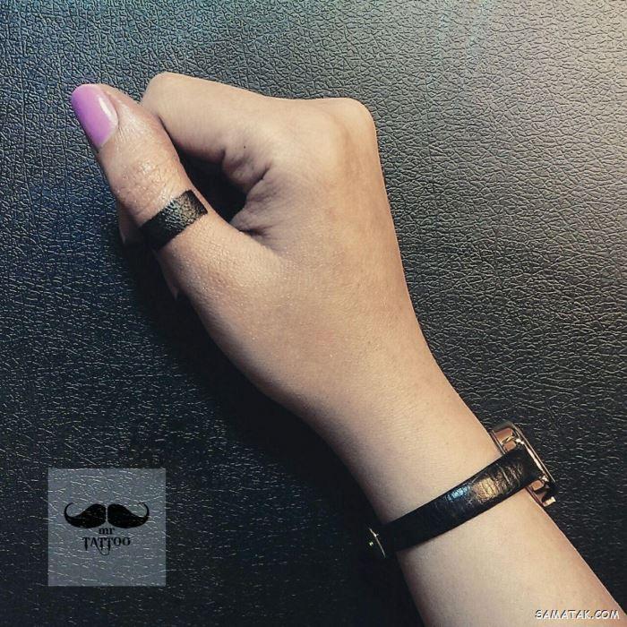 طرح تاتو دخترانه روی دست (مچ - ساعد - بازو - انگشت)