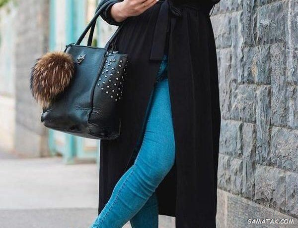 مدل مانتو مشکی شیک و رسمی - اسپرت - لاکچری - ساده و جدید