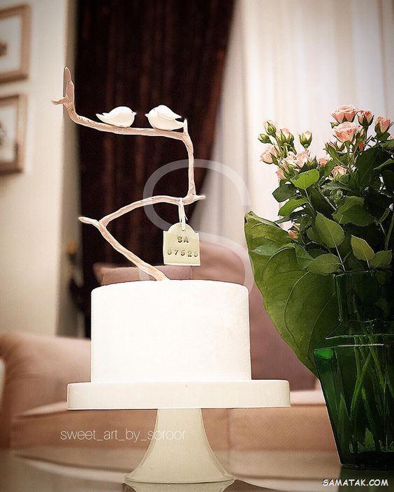 کیک سالگرد ازدواج؛ عکس انواع مدل کیک سالگرد ازدواج فانتزی و لاکچری