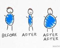 چگونه بعد از لاغر شدن چاق نشویم | تثبیت وزن بعد از کاهش وزن