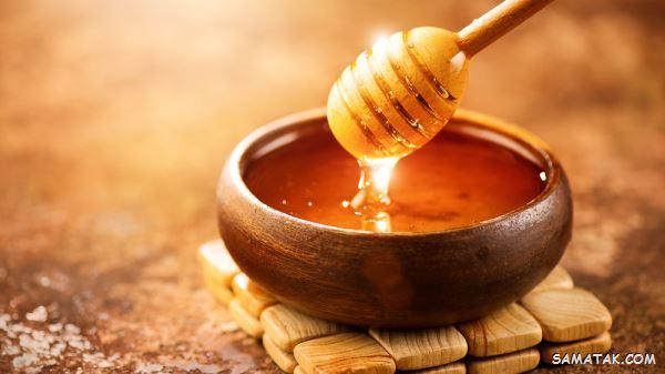 کالری یک قاشق عسل با موم   کالری یک قاشق مربا خوری عسل
