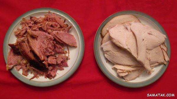 طبع گوشت بوقلمون سرد است یا گرم   گوشت بوقلمون نر بهتر است یا ماده