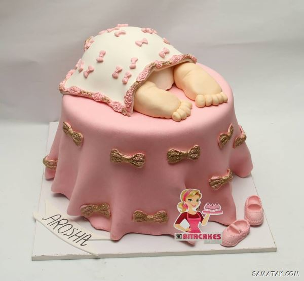 عکس انواع مدلهای کیک تولد یک سالگی دخترانه جدید