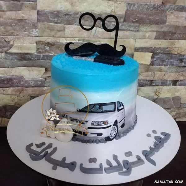 نوشته روی کیک تولد همسر | متن کوتاه عاشقانه روی کیک تولد همسر