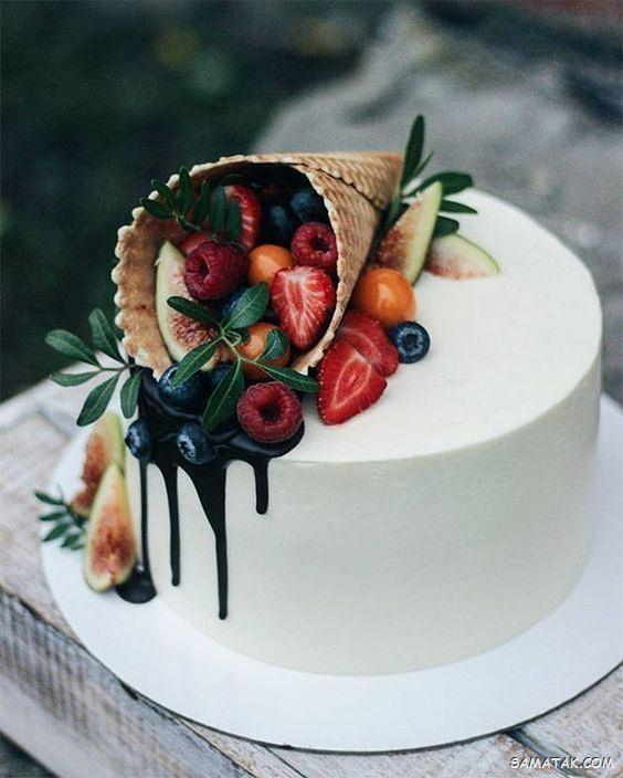 کیک تولد مردانه ۲۰۲۱؛ مدل کیک تولد مردانه عاشقانه