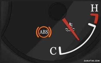 دلیل روشن شدن چراغ abs | علت روشن شدن چراغ ای بی اس و ترمز دستی