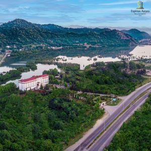 هتل اسپیناس بندر آستارا؛ اقامتی رویایی کنار دریاچه استیل
