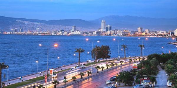 فاصله ازمیر تا شهرهای توریستی ترکیه