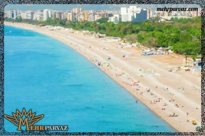 بهترین سواحل آنتالیا برایسفر را بشناسید